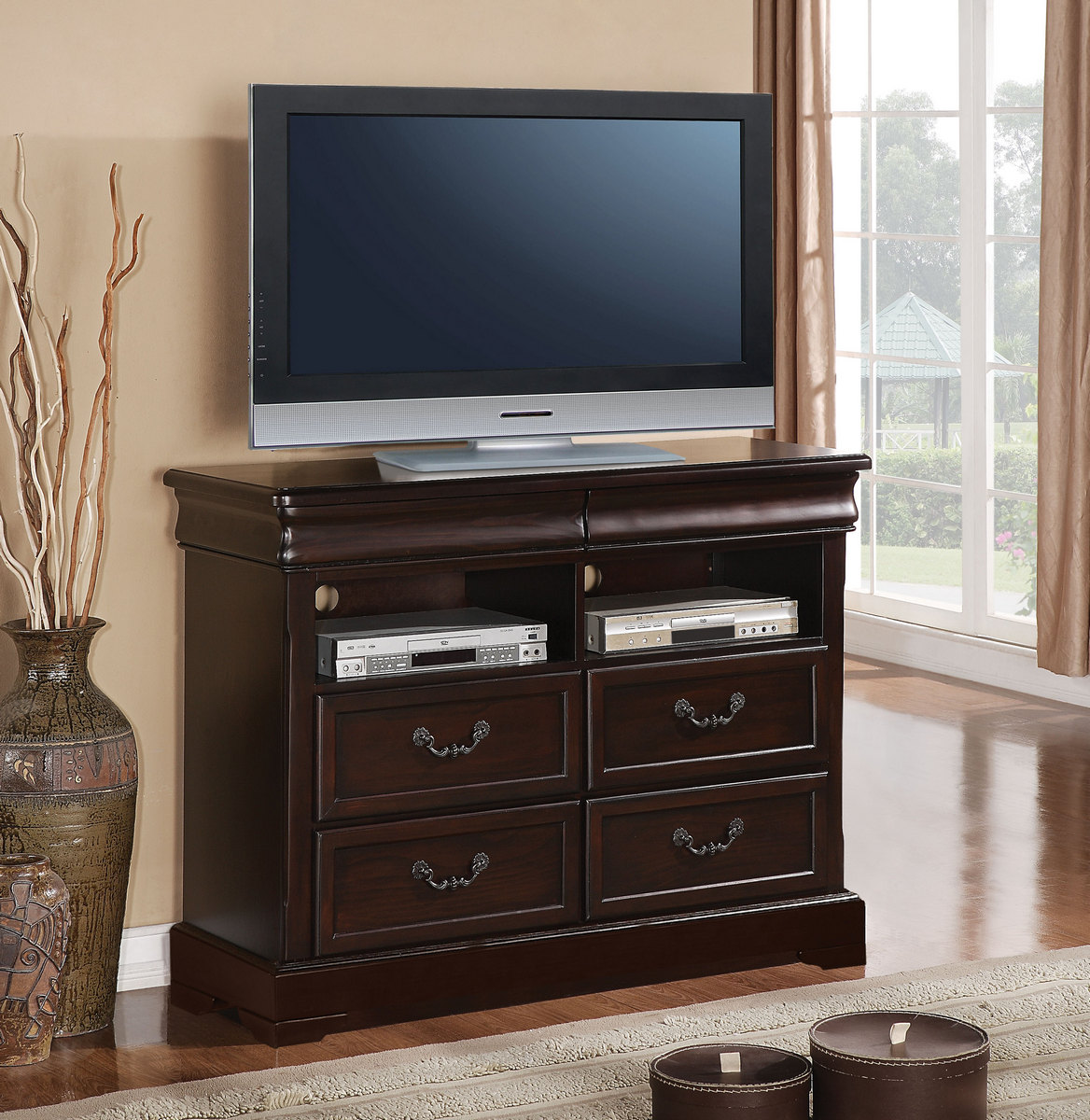 Acme Roman Empire Tv Console Cherry