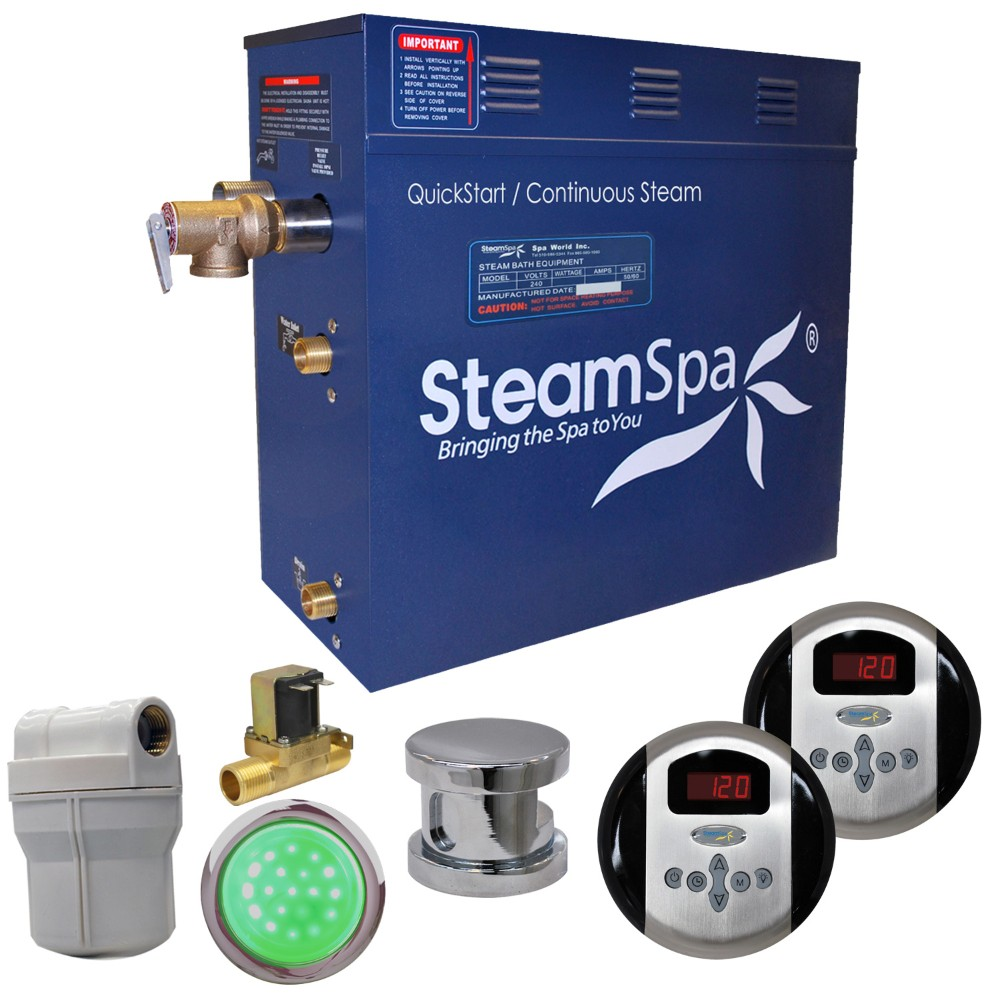 Click here for Steamspa Steam Bath Generator Auto Drain
