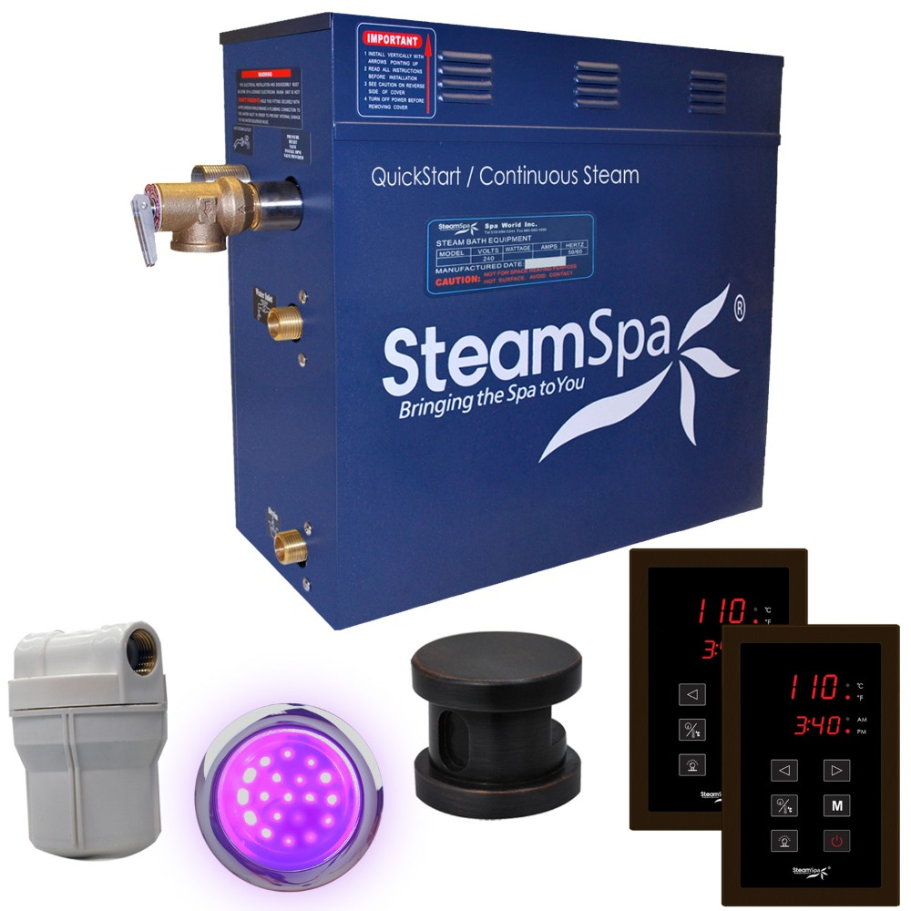 Steamspa Royal Steam Bath Generator Package Oil Rubbed Bronze