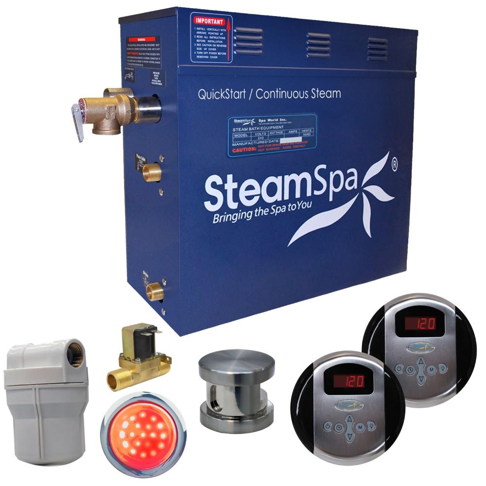 Steamspa Royal Steam Bath Generator Package Built Auto Drain