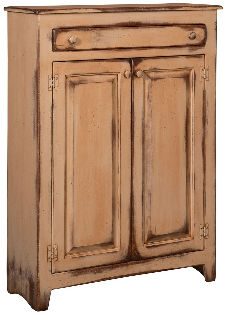 Chelsea Home Ruths Pie Safe Distressed Antiqued Buttermilk