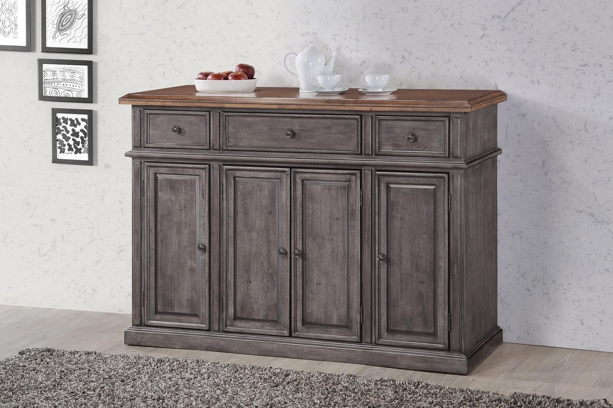 Chelsea Home Saint Pete Server Storm Grey Maple