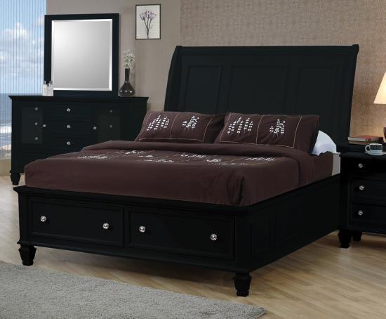 Coastal King Bed