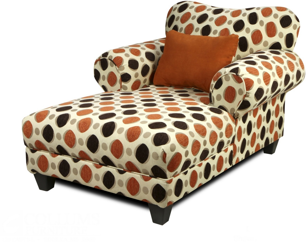 Chelsea Home Sheldon Chaise Chagall Chocolate
