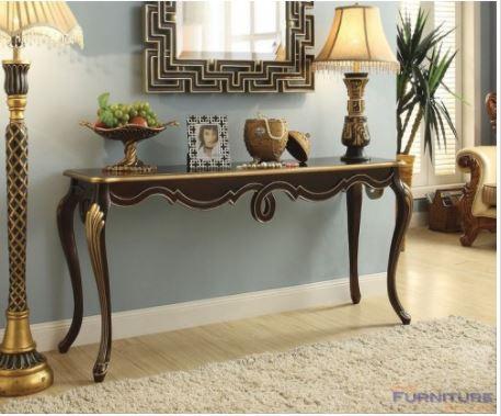 Acme Shiloh Console Table Bronze