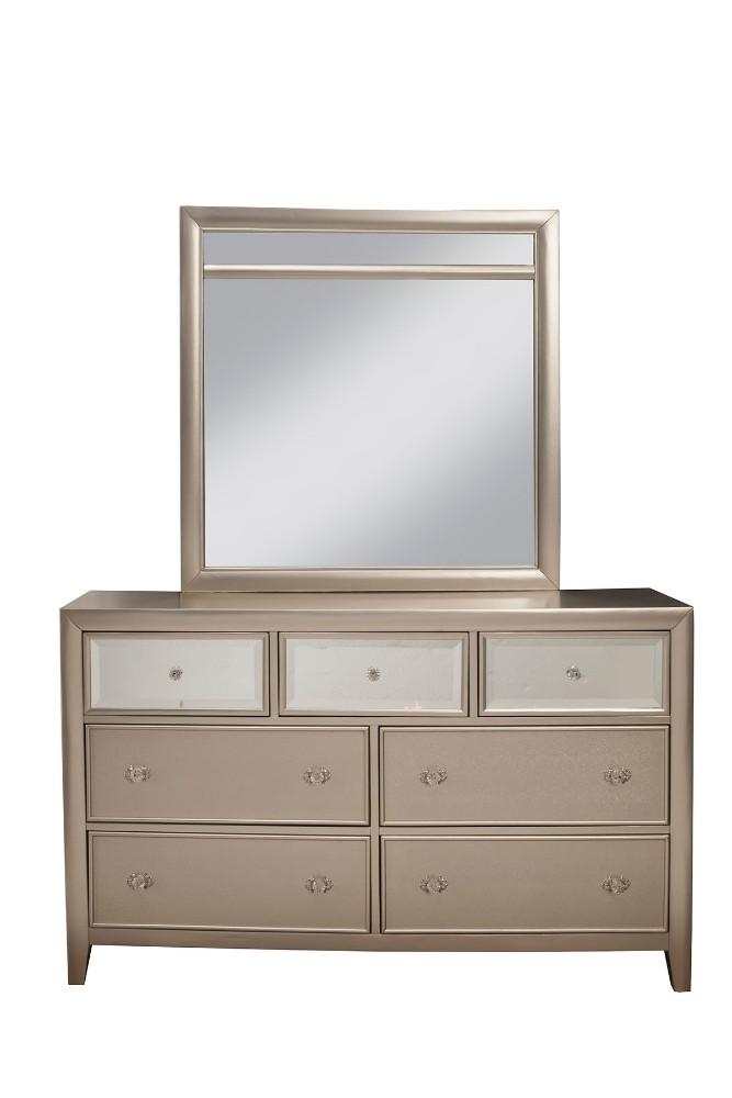 Alpine Silver Dreams Drawer Dresser