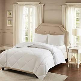 Smart Cool by Sleep Philosophy Smart Cool Microfiber King Coolmax Down Alternative Comforter in White - Olliix BASI10-0496
