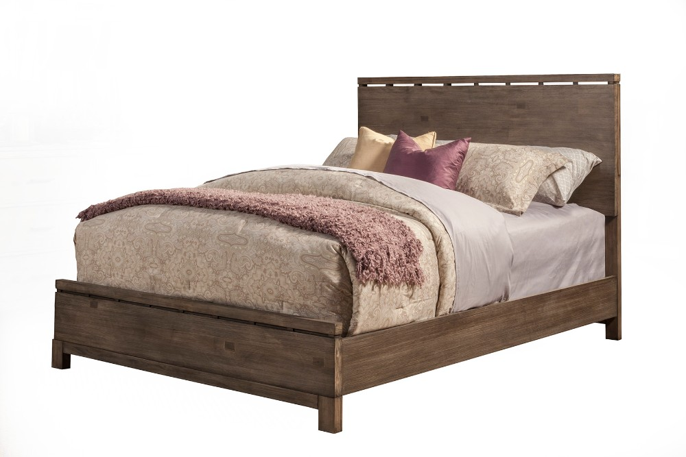Sydney Queen Panel Bed - Alpine Furniture 1700-01Q