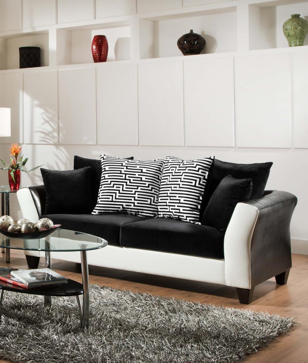 Chelsea Home Tau Sofa Black