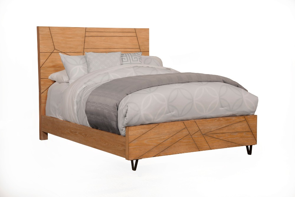 Alpine Trapezoid California King Platform Bed