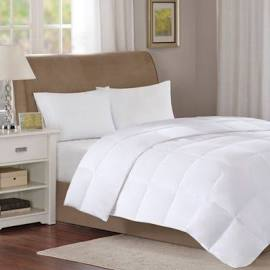 True North by Sleep Philosophy Level 1 Full/Queen Down Comforter in White - Olliix TN10-0053