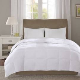 True North by Sleep Philosophy Level 1 King Down Comforter in White - Olliix TN10-0054