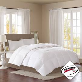 True North by Sleep Philosophy Level 2 King Down Comforter in White - Olliix TN10-0057