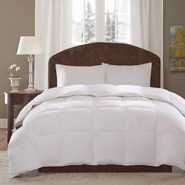 True North by Sleep Philosophy Level 3 King Down Comforter in White - Olliix TN10-0060