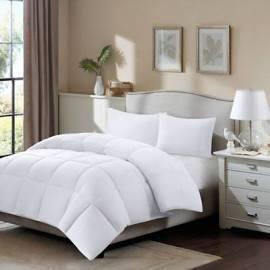 TrueNorth Northfield Twin/Twin XL 3M Scotchgard Supreme Down Blend Comforter in White - Olliix MP10-1249