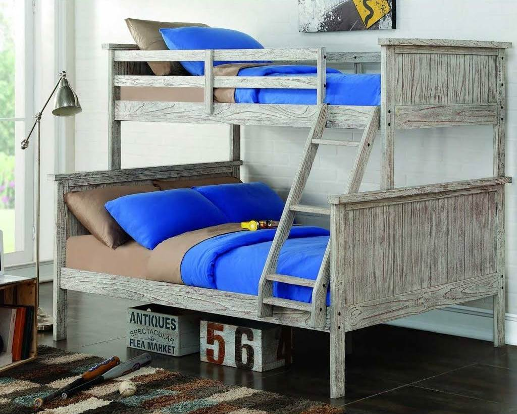 Donco Kids Furniture Twin Panel Bunk Bed Photo