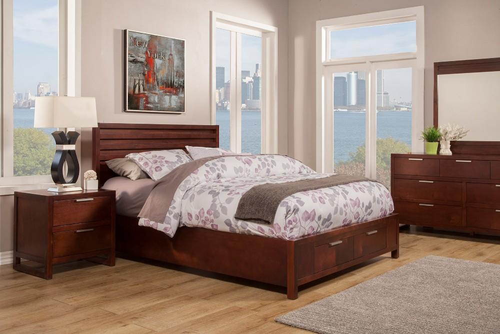 Alpine Urban Full Storage Bed