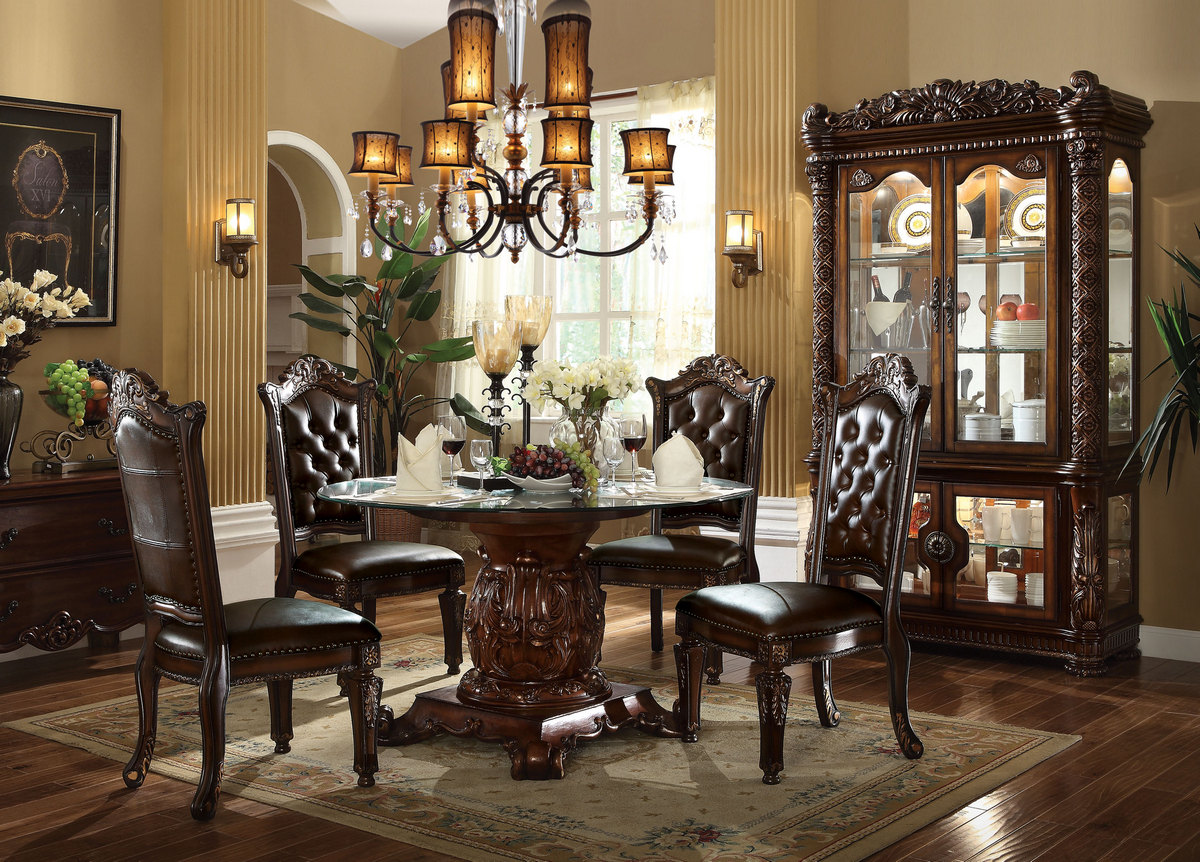 Acme Dining Table Pedestal