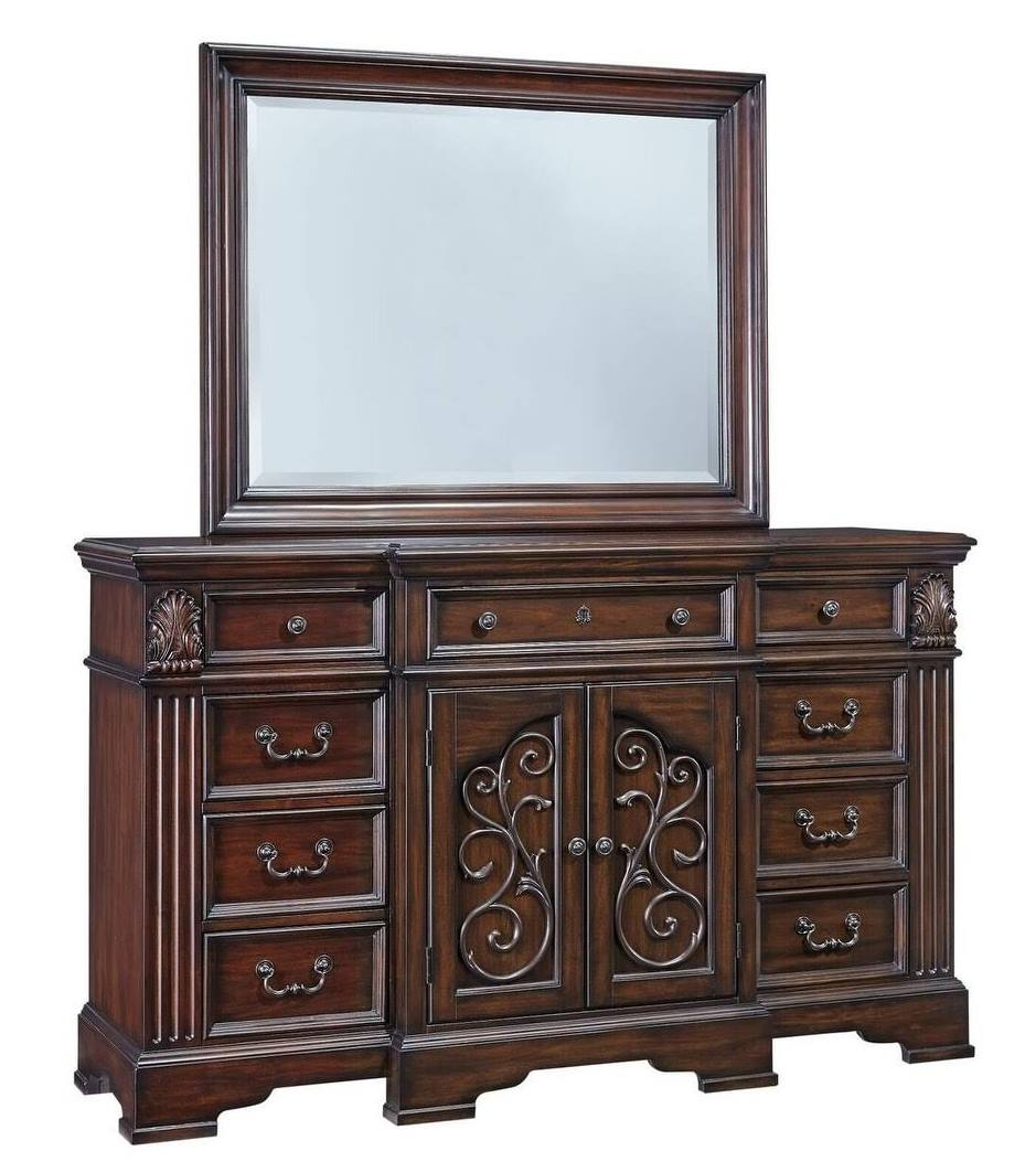 Progressive Villa Romana Door Dresser Mirror Coffee