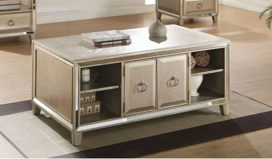 Acme Coffee Table Lift Antique Gold