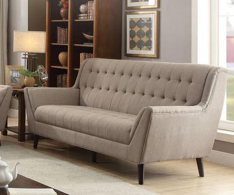 Acme Watonga Sofa Light Brown Linen