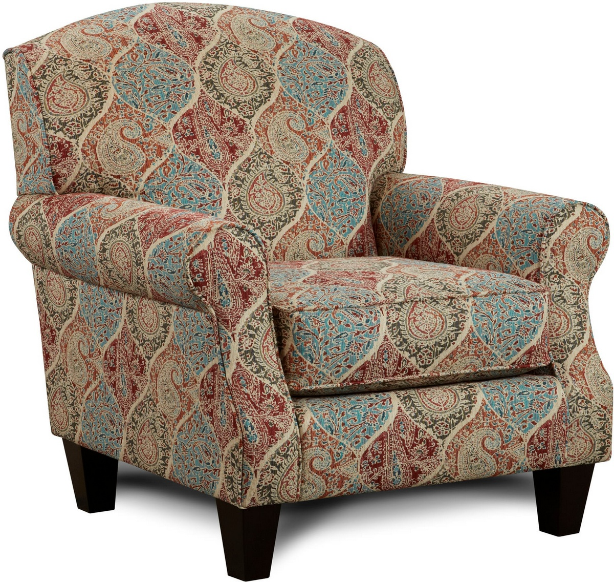 Chelsea Home Wellesley Accent Chair Heather Heather
