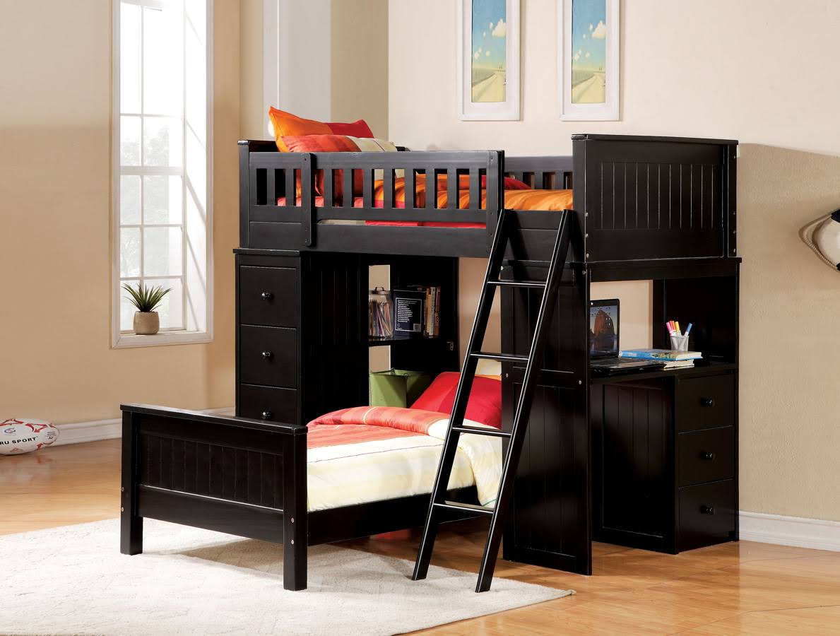 Acme Willoughby Loft Bed Black