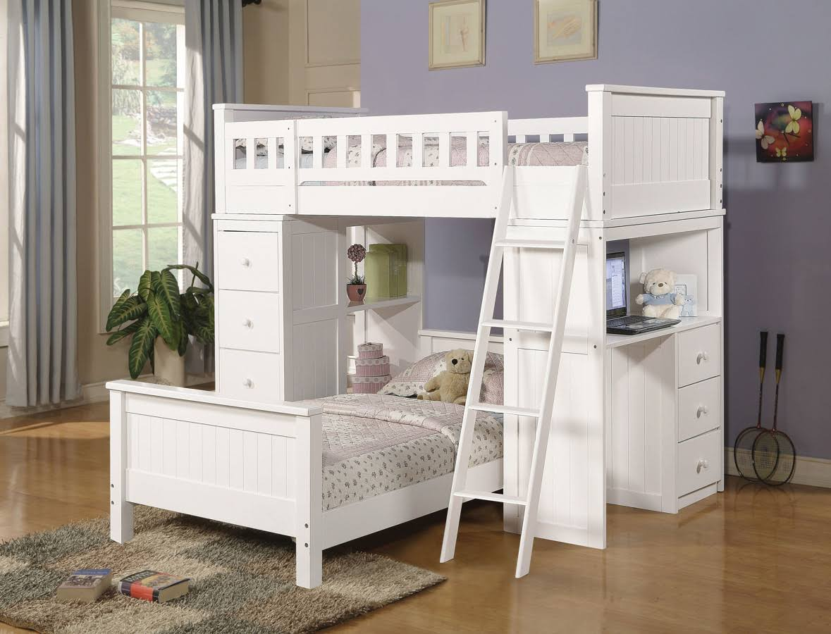 Acme Willoughby Loft Bed White