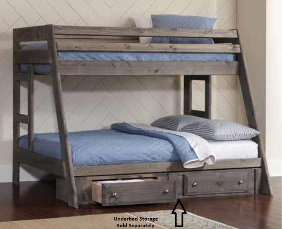 Twin Rustic Bunk Bed