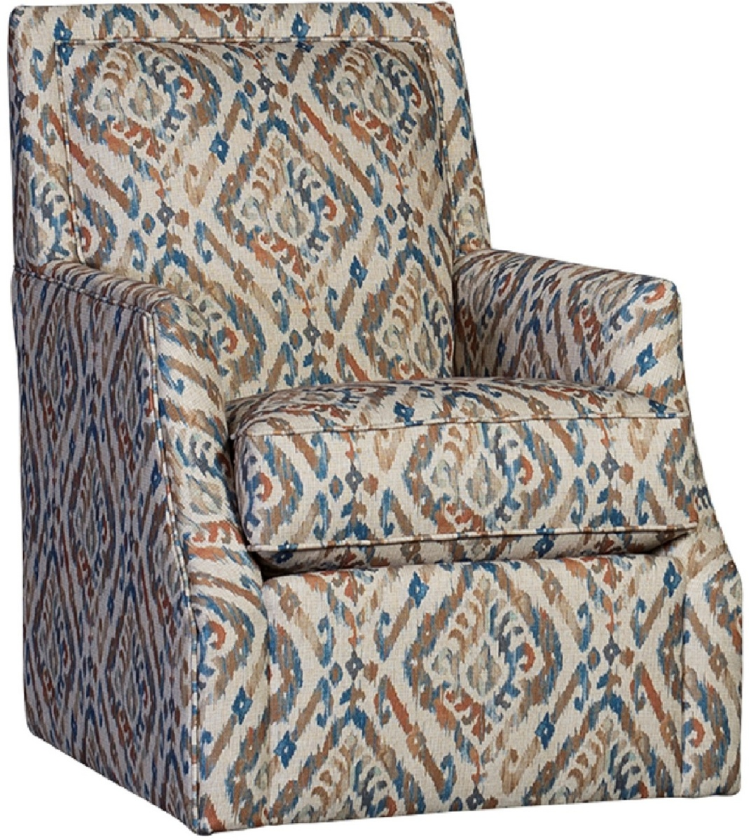 Chelsea Home Wright Swivel Chair Cantabria Persian
