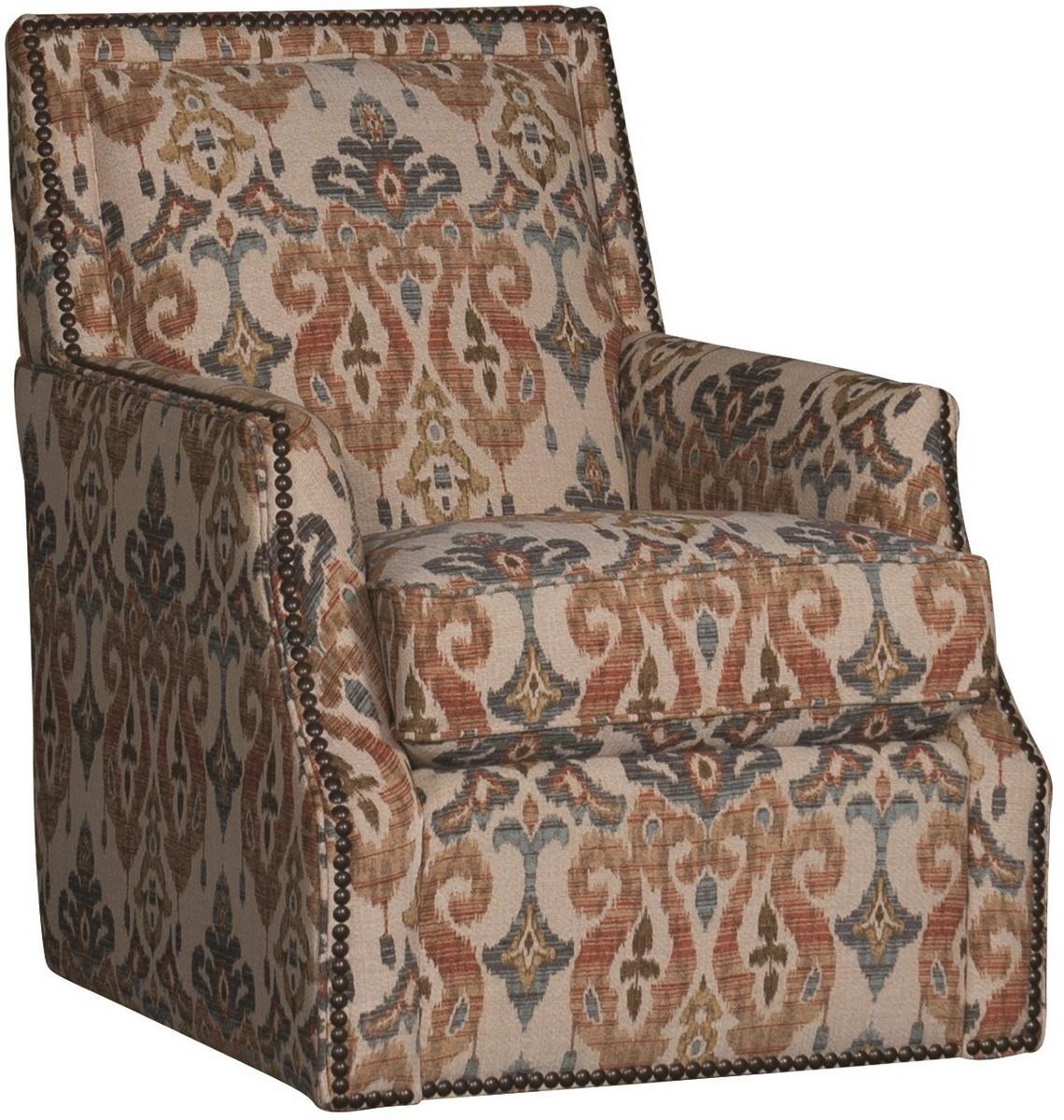 Chelsea Home Wright Swivel Chair Sandoa Desert