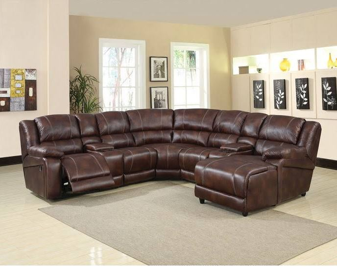 Acme Zanthe Sectional Sofa Motion Brown Mfb