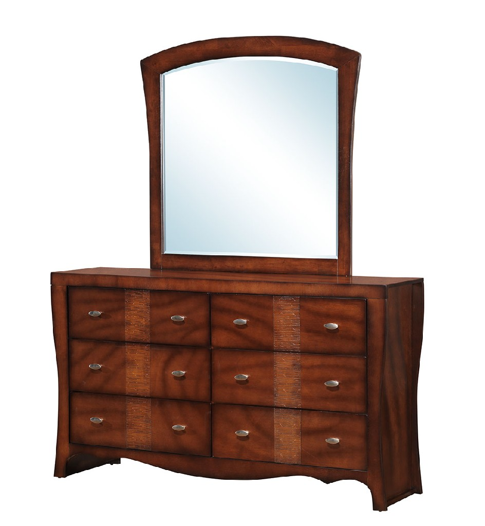 Picket House Furniture Dresser Mirror Set Photo