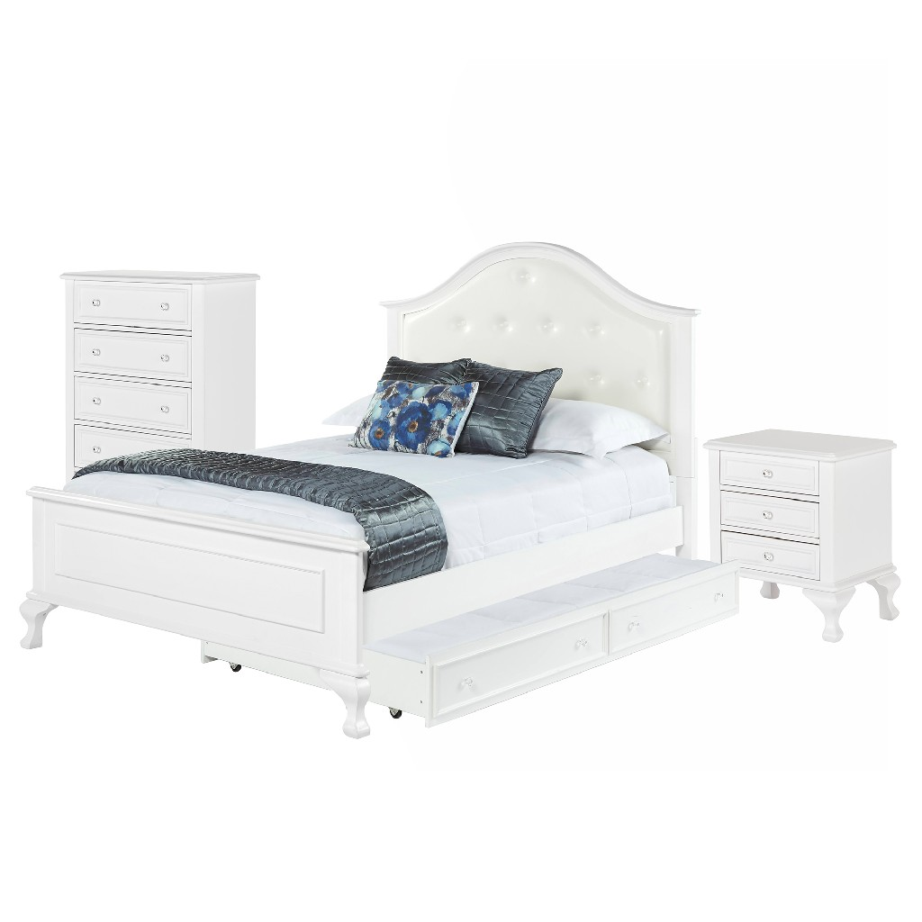 Picket House Jenna Full Panel Trundle Bedroom Set