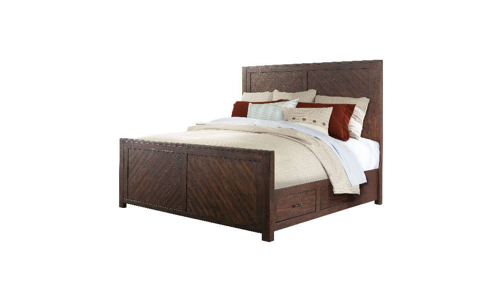 Picket House King Platform Storage Bed