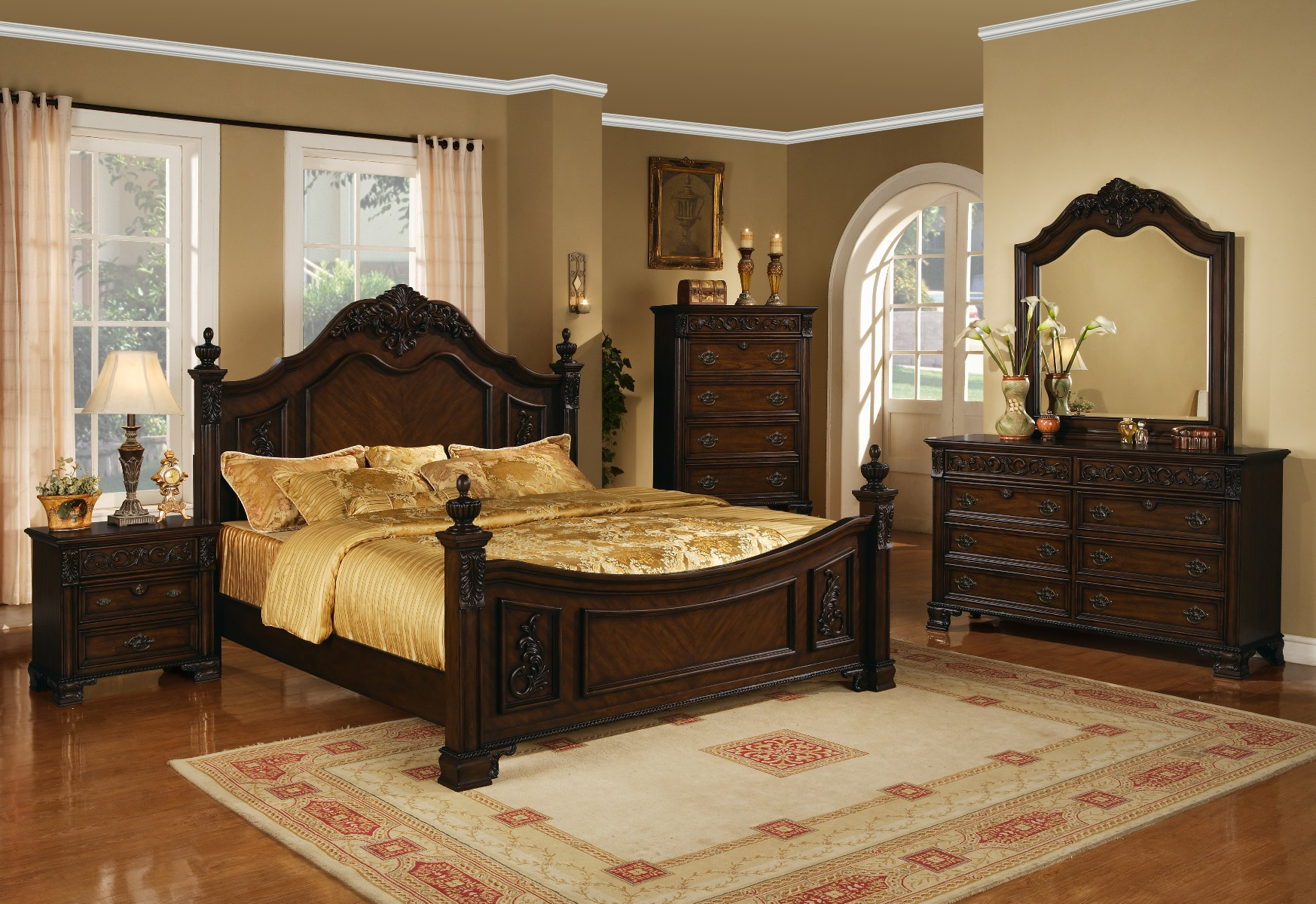 Myco Furniture Queen Bed Photo