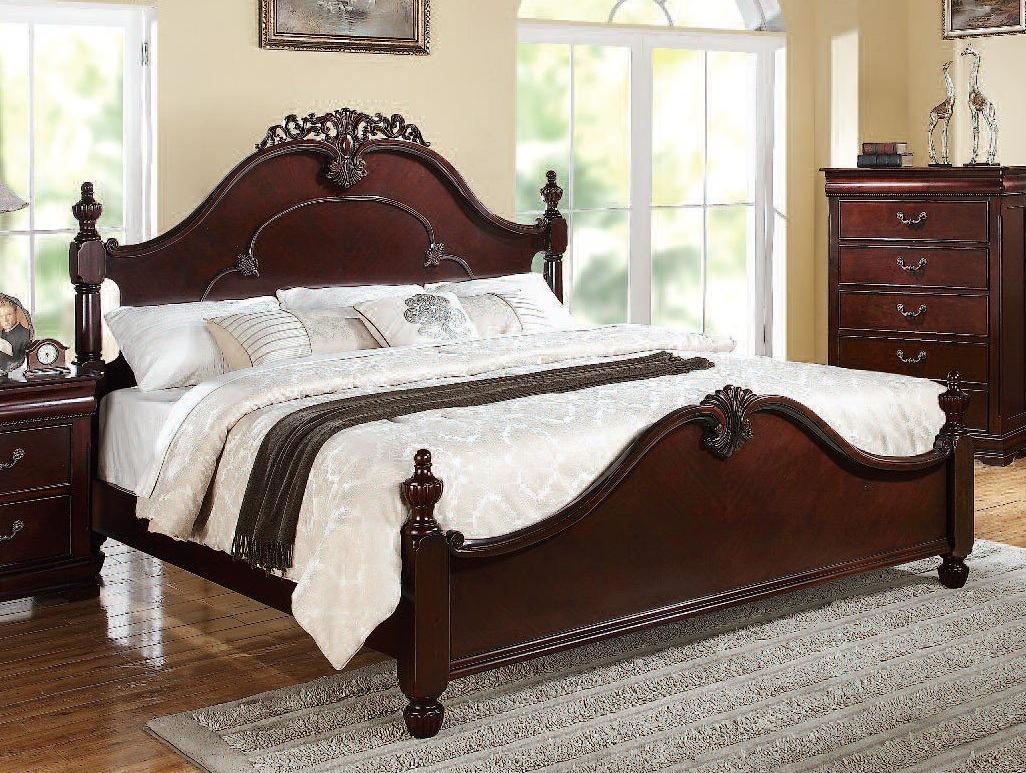 Acme Gwyneth California King Bed Cherry