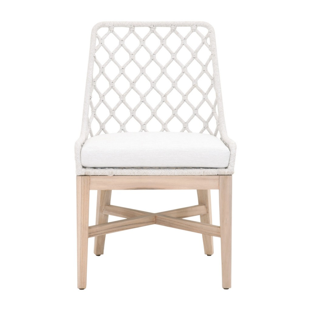 Woven Lattis Outdoor Dining Chair