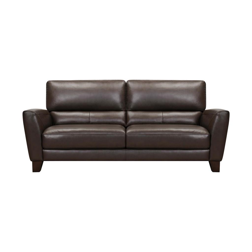 Kester Square Arm Genuine Leather Sofa
