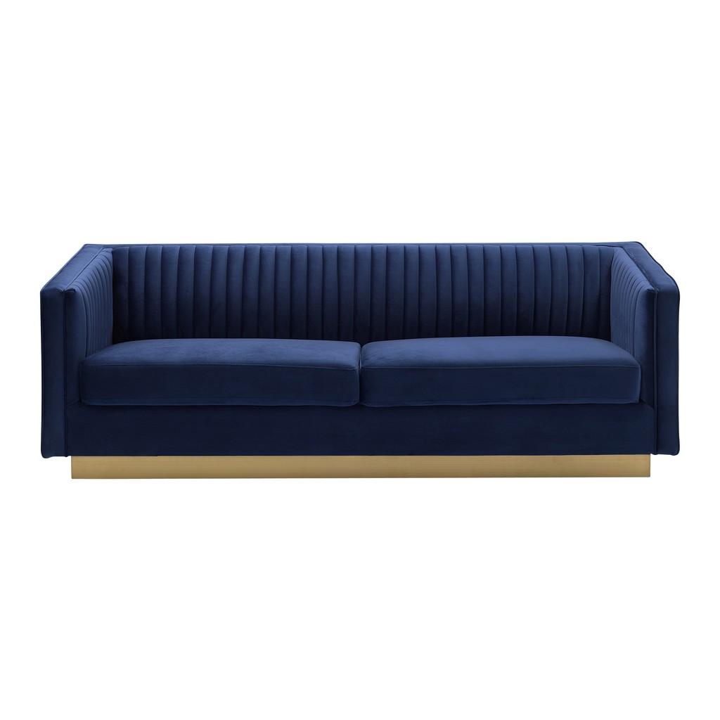 Velvet Gold Sofa