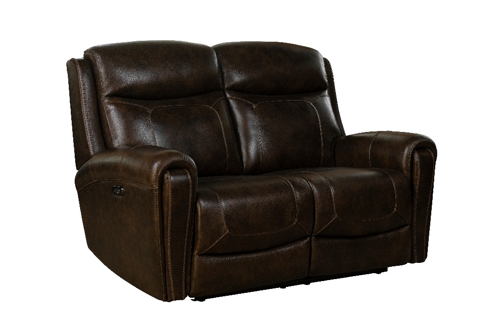 Barcalounger Power Reclining Loveseat Power Head Rests Tri Tone