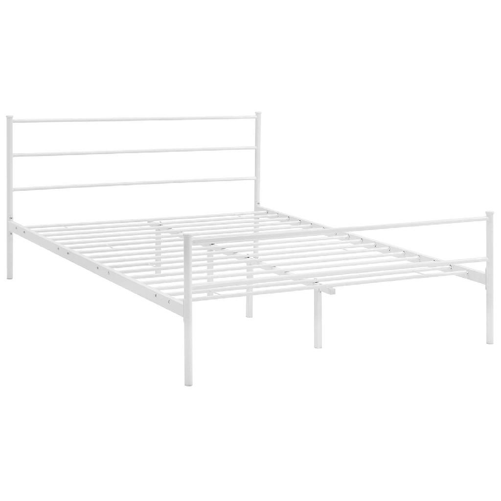 Alina Full Platform Bed Frame MOD-5552-WHI-SET