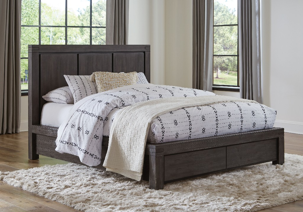 Modus Storage Bed Queen Wood