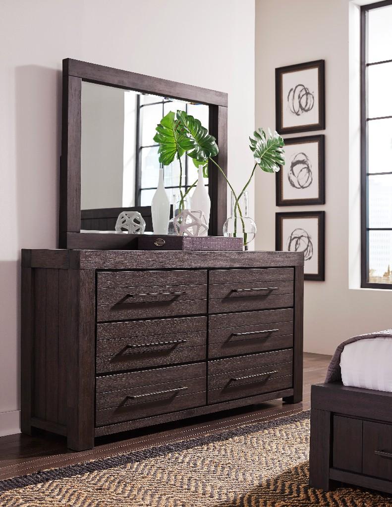 Heath Six Drawer Dresser in Basalt Grey - Modus 3H5782 Image