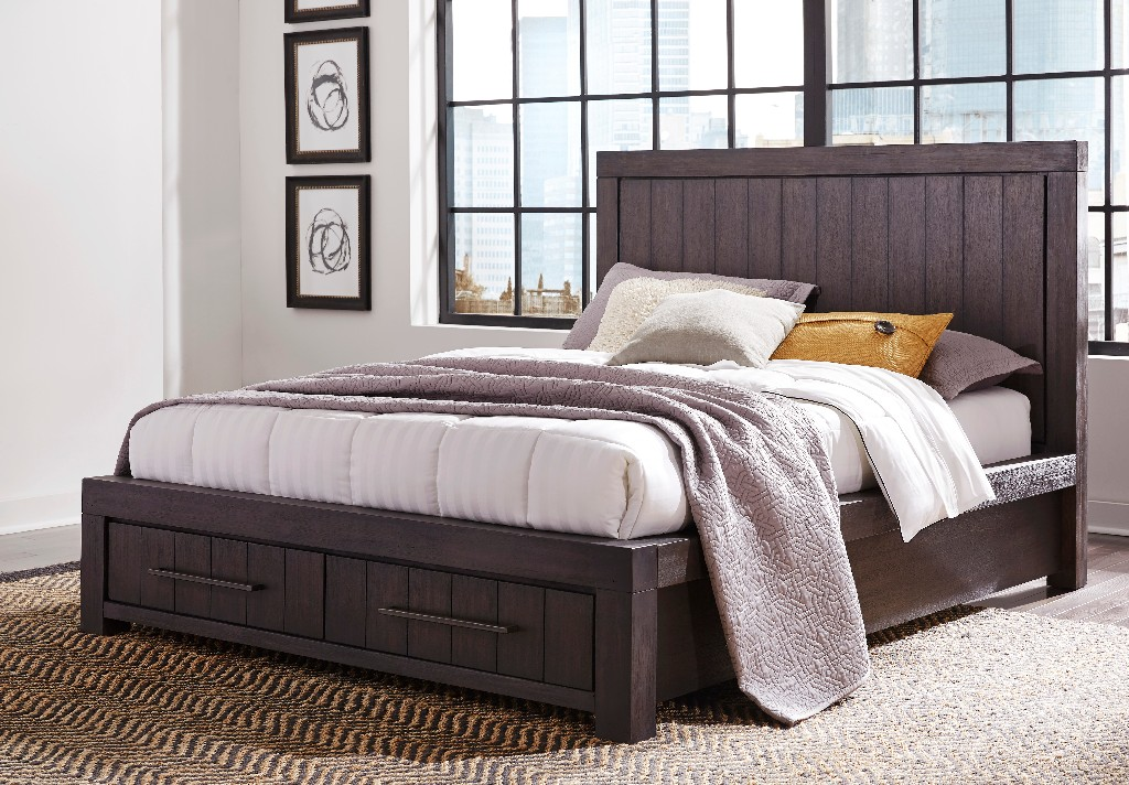 Modus Queen Drawer Storage Bed
