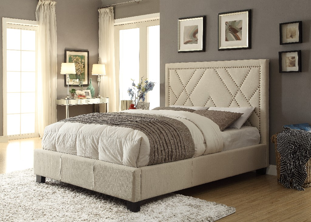 Modus Furniture Queen Platform Storage Bed Photo