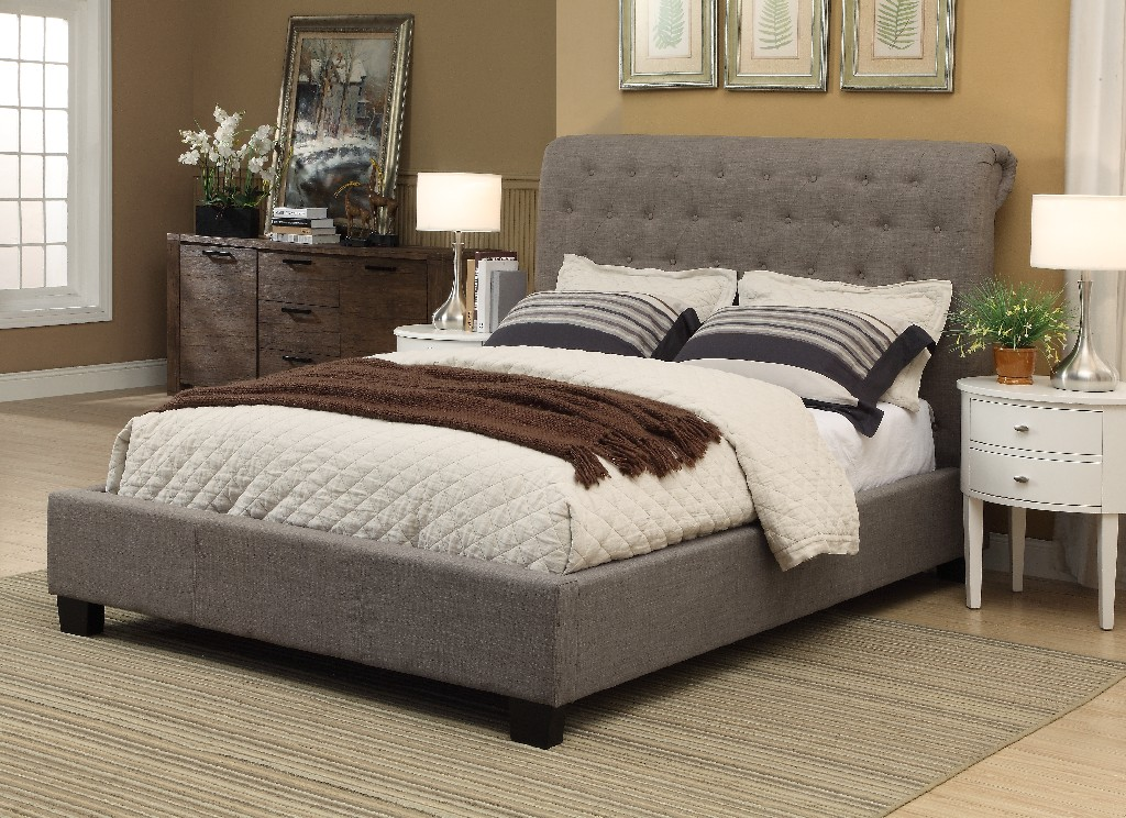 Modus Queen Tufted Platform Storage Bed