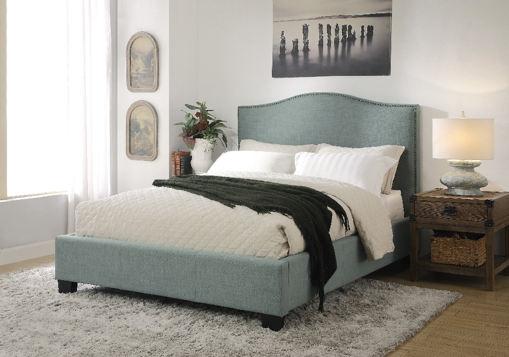 Modus Furniture Platform Bed Queen Photo