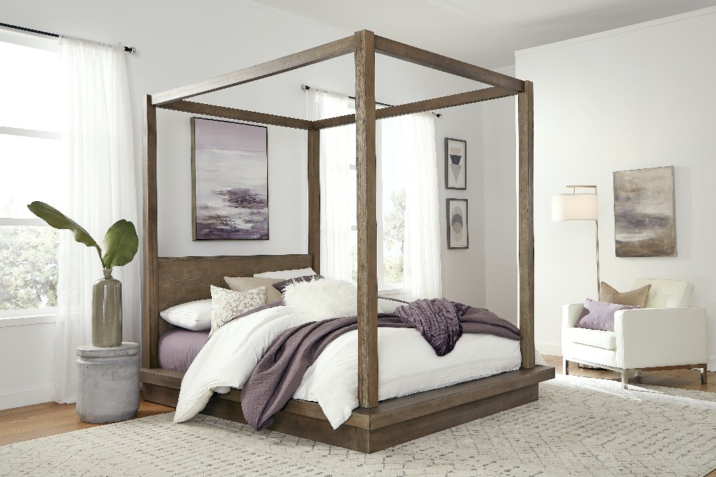 Modus Queen Canopy Bed