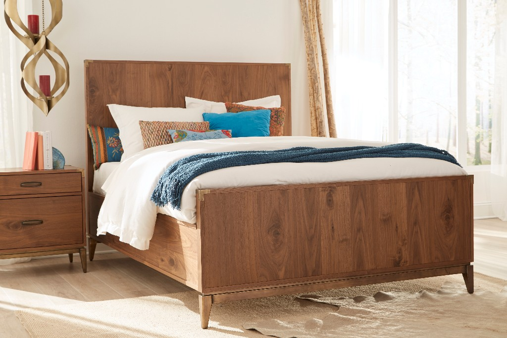 Modus Furniture Panel Bed Photo